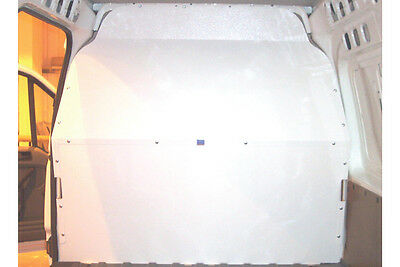 Van Guard Ford Transit 2014-On Full Solid Bulkhead Safety Protection Exterior