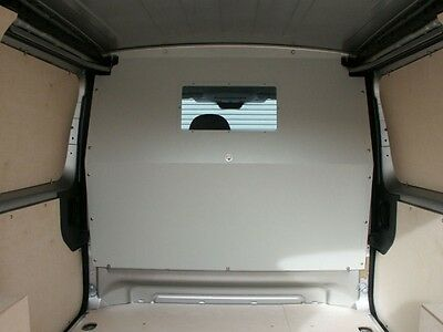 Van Guard Dispatch Scudo Expert Proace Full Steel Bulkhead With Window Safety