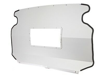 Van Guard Vauxhall Combo 2001-2012 Top Half Bulkhead With Window Safety
