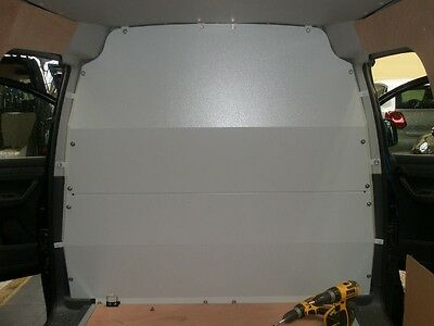 Van Guard VW Caddy 04-On Full Solid Bulkhead Safety Without Factory Fitted Bh
