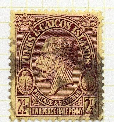 Turks and Caicos 1925 GV Early Issue Fine Used 2.5d. 064620