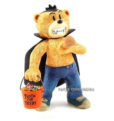 Bad Taste Bears Figurine Fang New In Original Box with all Inserts