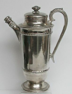 Antique Plate Cocktail Shaker