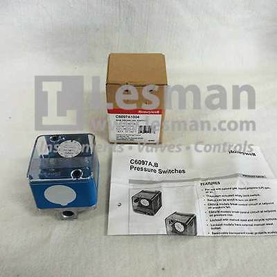 NEW Honeywell C6097 Gas or Air Pressure Switch C6097A1004