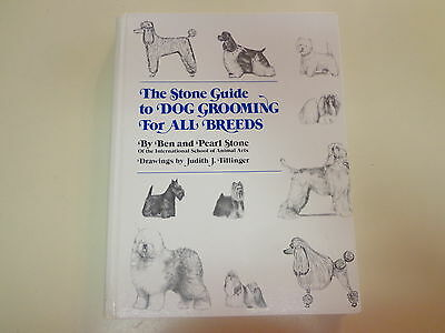 The Stone Guide to Dog Grooming for All Breeds 1981 Reference Hairstyles