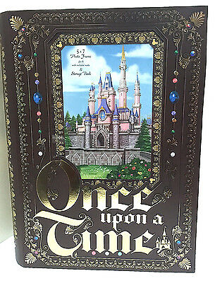 Disney Parks Once  Upon a Time Large Keepsake Box with Frame  NEW