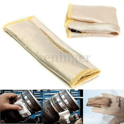 1PC 15CM Glass Fiber Finger Heat Shield Guard Protection For TIG Welding Glove