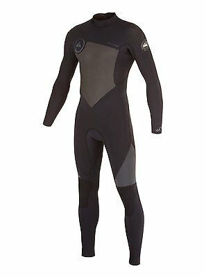Quiksilver Syncro GBS 4/3 Back Zip Wetsuit sizes XS, S, XL - new NWT