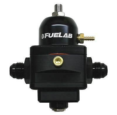 Fuelab Electronic Fuel Pressure Regulator -8 JIC Inlet/Return Black 529xx Series