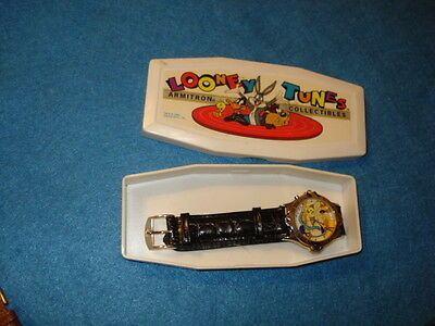 Looney Tunes Musical Road Runner Character Watch In Box
