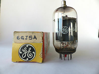 General Electric Röhre 6GJ5A , Vacuum Tube ,  Beam Power Tube