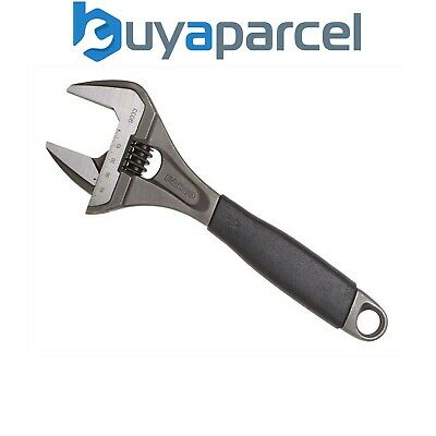 Bahco BAH9033 Ergo Adjustable Wrench 250mm Extra Wide Jaw 9033
