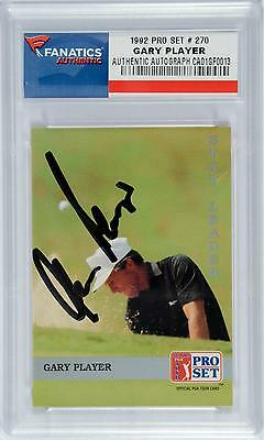 Gary Player Autographed 1992 Pro Set No.270 Card Fanatics Authentic Certified