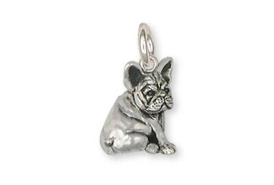French Bulldog Charm Handmade Sterling Silver Dog Jewelry FR21-C