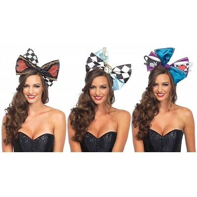 Alice in Wonderland Bow Costume Accessory Adult Halloween