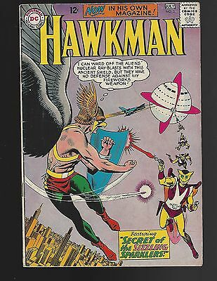 Hawkman #2 Secret Of The Sizzling Sparklers!