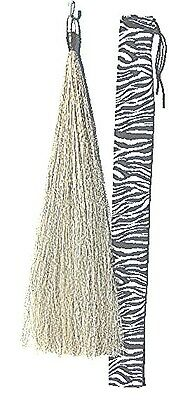 Light GreyTail Extension 38 inch NEW 1/2# by KATHYS TAILS FEI USDF Approved