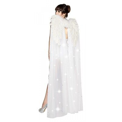 Angel Wings Costume Accessory Adult Womens Christmas Halloween Fancy Dress