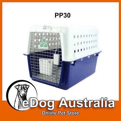 Airline Approved Crate PP30 Dog Cat Pet Carry Carrier Cage Portable