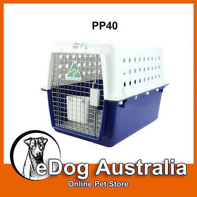 Airline Approved Crate PP40 Dog Cat Pet Carry Carrier Cage Portable
