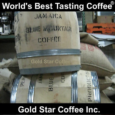 4 lbs - 100% Jamaica Blue Mountain Coffee Green Beans - For Home Roasting