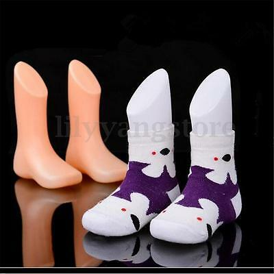 1 pcs Hard Plastic Child Feet Mannequin Foot Model Tools for Shoes Sock Display