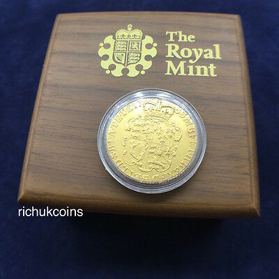 [1783 GB Coin]1x UK George III Rose Shield Guinea Gold Coin-Circulated!!!