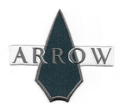 DC Comics Arrow TV Series Name Logo Icon Embroidered Patch, NEW UNUSED
