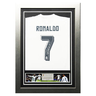 Cristiano Ronaldo Signed Real Madrid 2015/2016 Home Shirt - Number 7