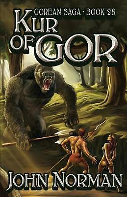 NEW Kur of Gor by John Norman Paperback Book (English) Free Shipping