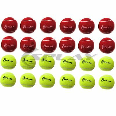 12 Cricket Tennis Ball Solid Hard Training Indoor outdoor Practice training