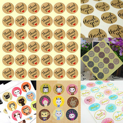 Lots Birthday Party Sticker Label Cupcake Topper Chocolate Wrapper 6 Style