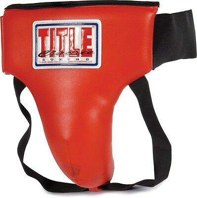 Title Boxing Groin Protector Plus No Foul Cup