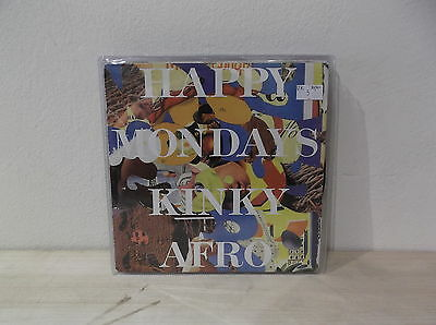 "HAPPY MONDAYS ‎Kinky Afro/ - (Live)  7"" EX/EX-  UK"