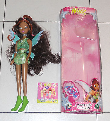 Bambola Doll WINX CLUB AISHA Fata Rainbow 2005 Basic Trendy Strega