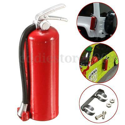 1/10 Scale Accessories Fire Extinguisher Red with Metal mount Holder + Hardware