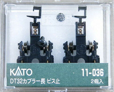 NEW KATO N Scale : 11-036 DT32 Long Coupler, Screw Airmail Only