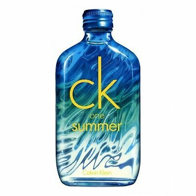 Calvin Klein CK One Summer 2015 EDT 100ml for all BRAND NEW