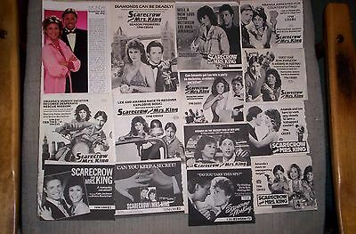 Scarecrow and Mrs.King 38 TV Guide Ads KATE JACKSON, BRUCE BOXLEITNER