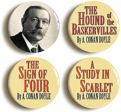 2inch//50mm diameter QUIET MIND PALACE IN USE SHERLOCK HOLMES BADGE BUTTON PIN