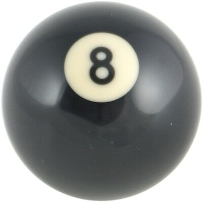 Pool Ball Gear Knob Fits Volkswagen VW Classic Beetle 67 on  - Black 8 Spot