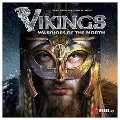 Vikings Warriors Of The North Board Game Brand New & Sealed Cheap!!