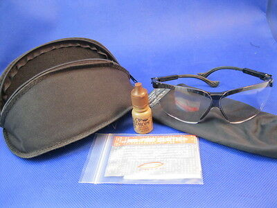 Revision Z87 MILITARY GLASSES with Clear Lens in Good Condition (Inv. 1136d)