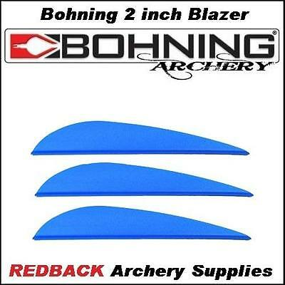 Bohning 3 inch X Vane BLUE 25 pack  for arrows archery hunting