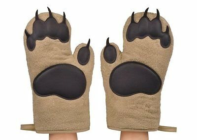 Fred BEAR HANDS OVEN MITTS - Set of 2 Bear PAWS Oven Gloves