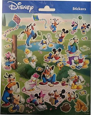 Mickey Mouse and Goofy - Sheet of Small Stickers