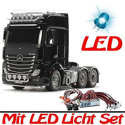 TAMIYA 1:14 Truck Mercedes Benz Actros 3363 GigaSpace 6x4 + LED CT-300056348-SET
