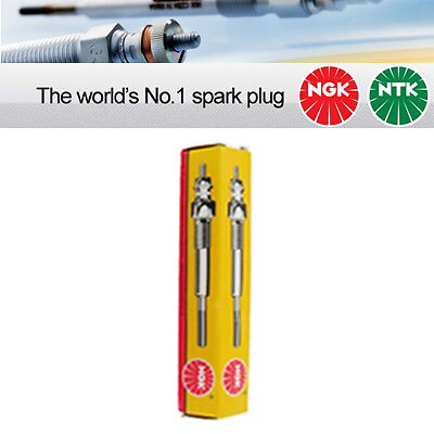 NGK YE07 / 6092 Sheathed Glow Plug Pack of 4 Genuine NGK Components