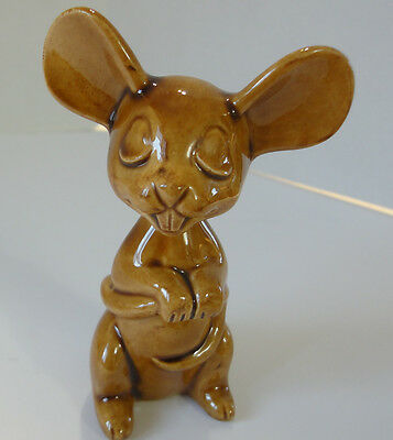 """Mouse, Little Brown Mouse by Tildonware Canada 3-3/4"""" high Very Unique"""