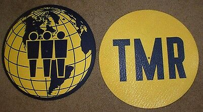 THIRD MAN RECORDS World Globe TMR Slipmat for vinyl records Jack White Stripes